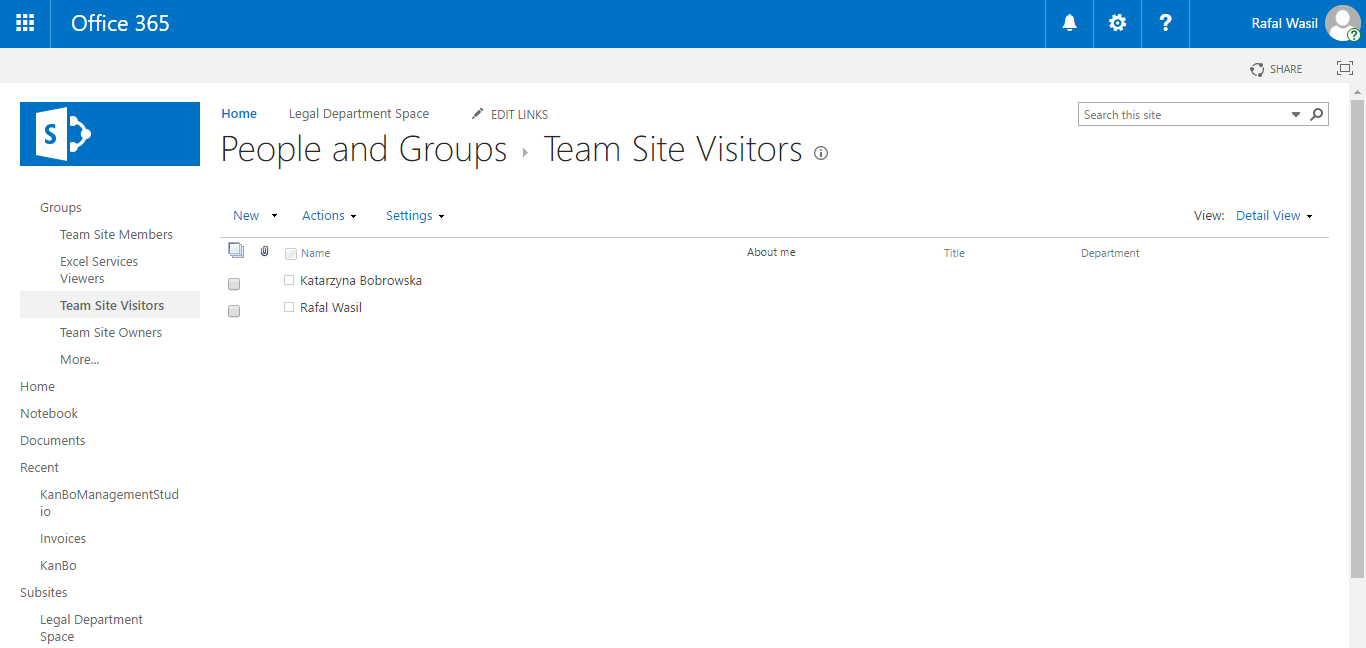Invite external users to KanBo KanBo external users office 365